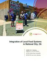 Integration of Local Food Systems in National City, CA