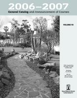 2006-2007 General Catalog and Announcement of Courses