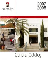 2007-2008 General Catalog and Announcement of Courses