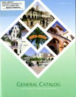General Catalog and Announcement of Courses, 2002-2003