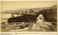 Alligator Head Arch, La Jolla, 1889