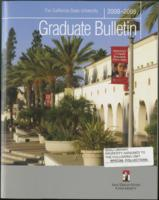 2008-2009 Graduate Bulletin, Announcement of the Division of Graduate Affairs