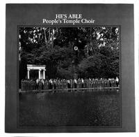 """He's Able"" Peoples Temple Choir album cover"