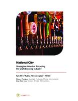 National City: Strategies Aimed at Attracting the Craft Brewing Industry