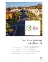 Zero Waste Initiatives in La Mesa, CA